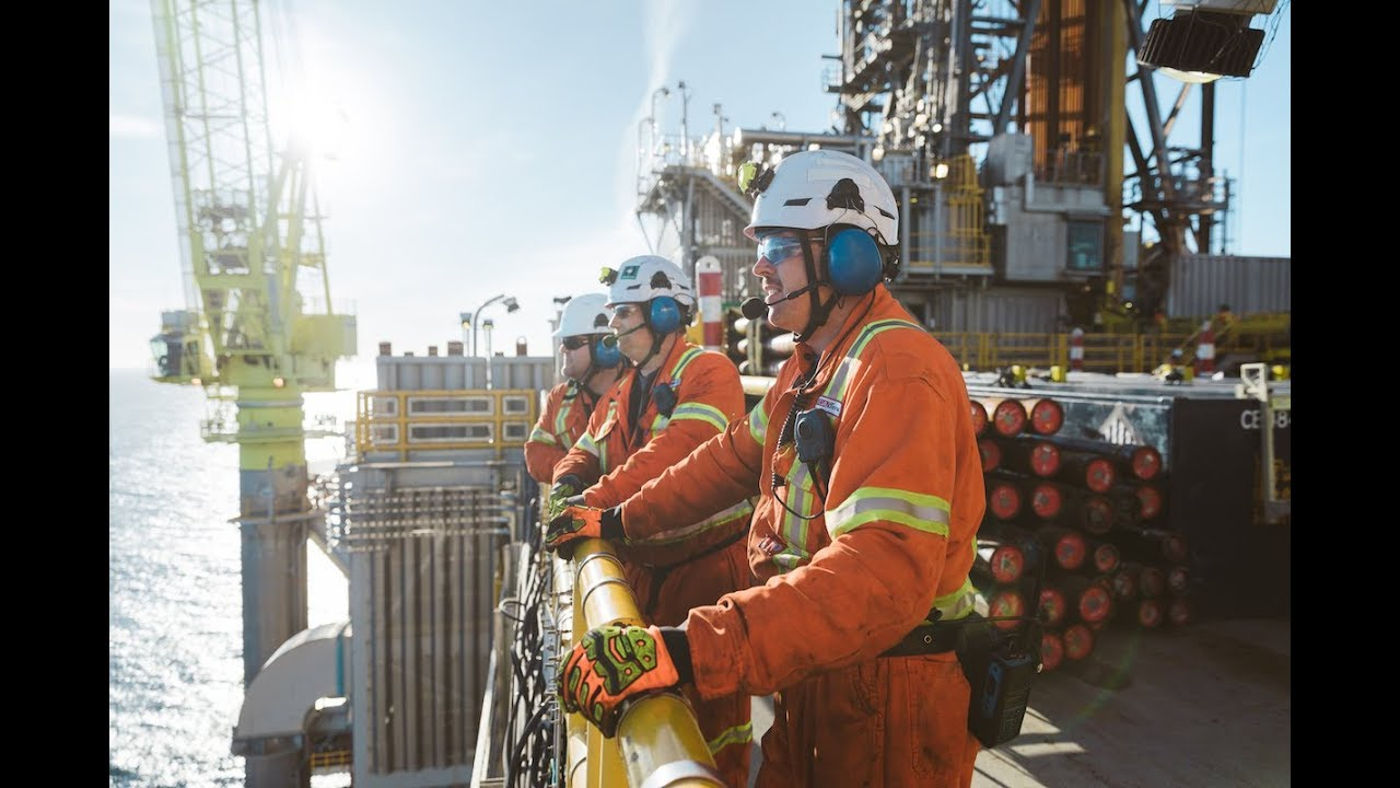 VIDEO: Take a look inside one of the world's largest offshore oil