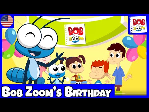 Bob Zoom - Bob Zoom`s  Birthday - English