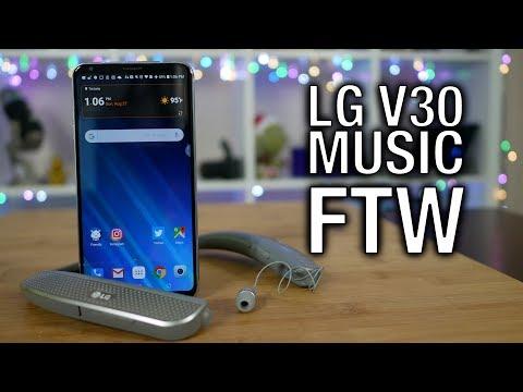 LG V30: Best Headphone Audio, Hands Down! | Pocketnow