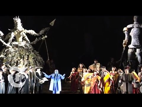 Satyagraha by Philip Glass   The New York Times