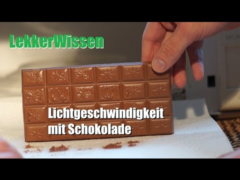 LekkerWissen - Schokolade und Lichtgeschwindigkeit
