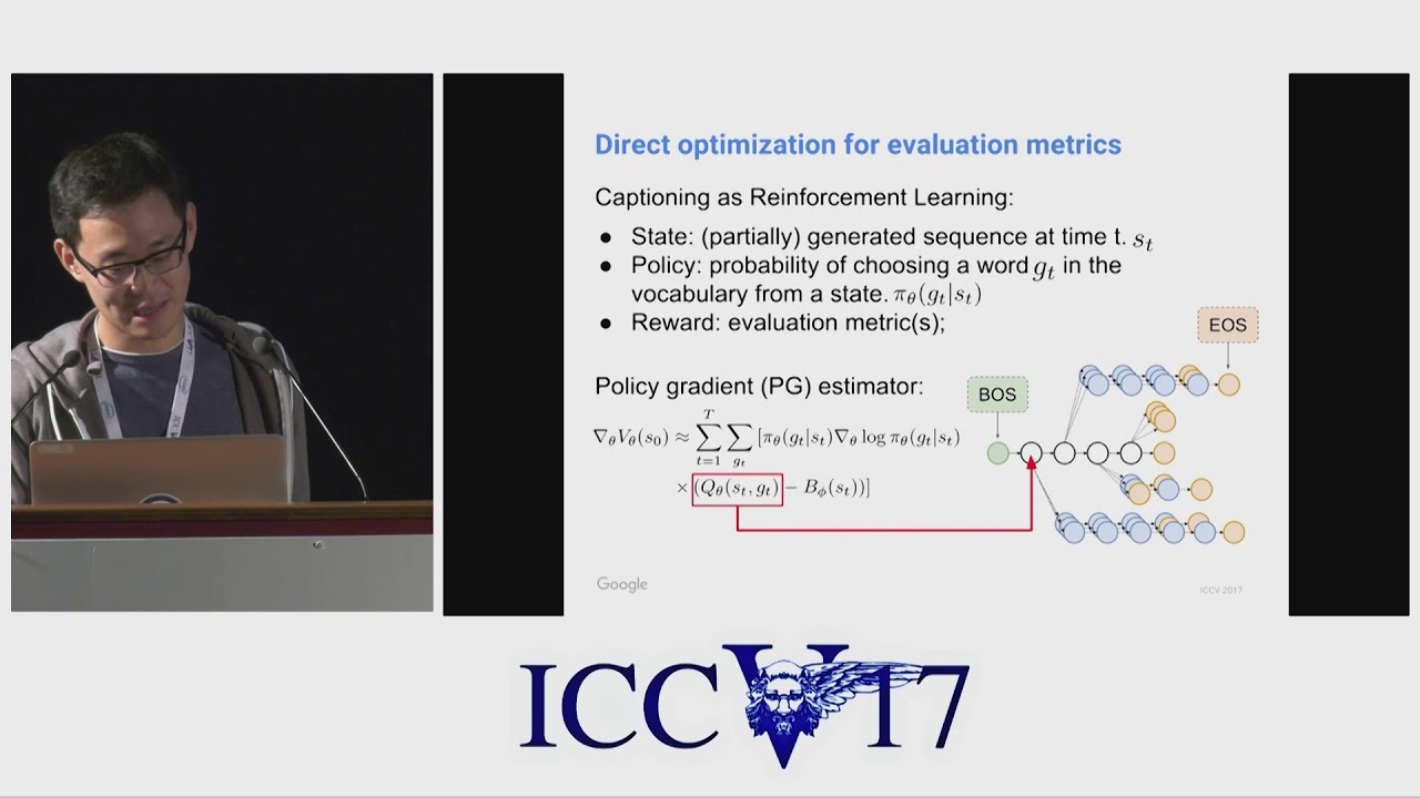 Improved Image Captioning via Policy Gradient optimization of SPIDEr