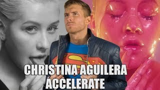 CHRISTINA AGUILERA - ACCELERATE REACTION   SK Reacts - #DailyTrend