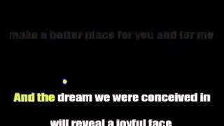 Heal the World   Michael Jackson   Karaoke