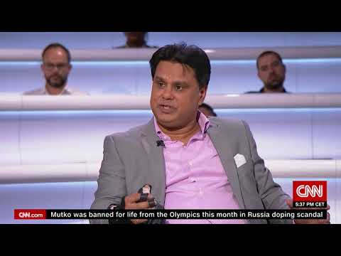 CNN Inspiration Body Smart interview with Prof. Shafi Ahmed