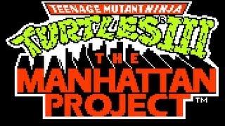 Teenage Mutant Ninja Turtles 3 Manhattan Project Nes Gameplay (2 players) Full Walkthrough (HQ)