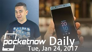 Samsung Galaxy Note to continue, LG G6 images & more   Pocketnow Daily