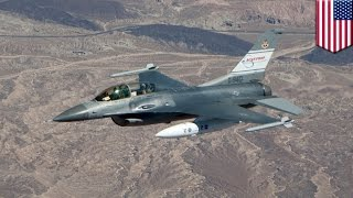 Unconscious pilot in F-16 saved by Auto-GCAS NASA collision avoidance system - TomoNews