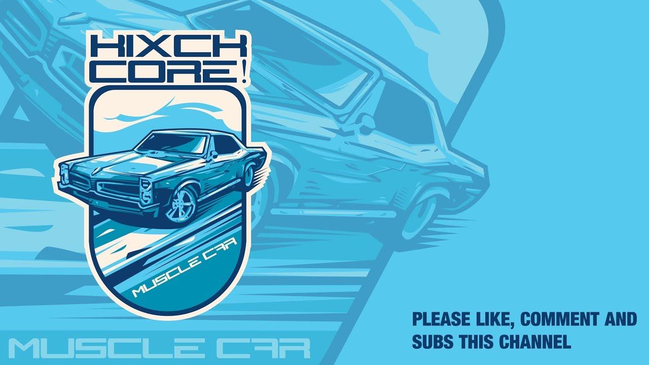 Adobe Illustrator Tutorial Muscle Car Logo Illustration Youtube