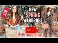 NEW SPRING 2019 WARDROBE: I BOUGHT EVERYTHING ON SALE TRY ON HAUL!
