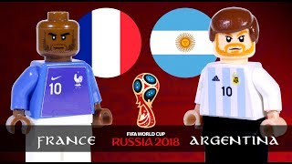 LEGO World Cup 2018 FRANCE Vs ARGENTINA