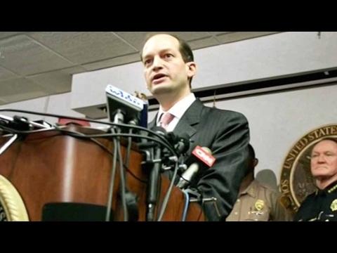 US President Trump nominates Alexander Acosta as labor secretary