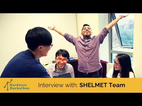 Interview with the SHELMET Team (Dublin Hardware Hackathon 2014) #HackDublin