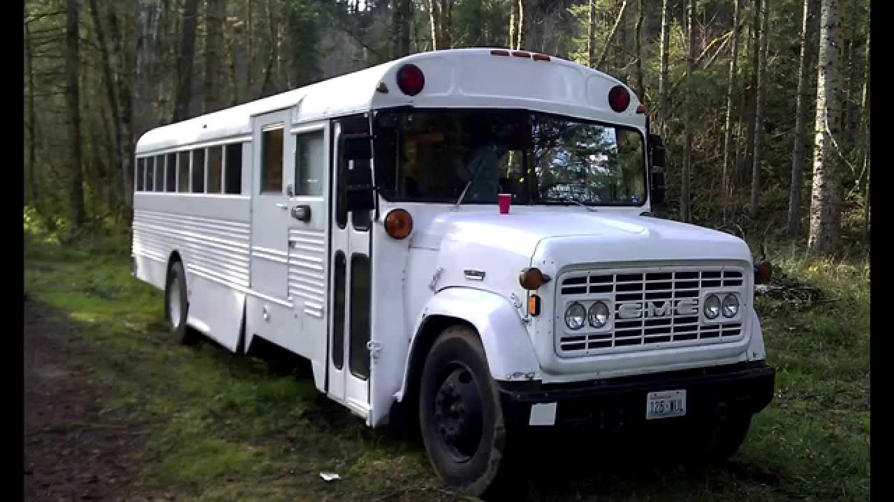 School Bus To Rv Conversion 1969 Gmc Diesel Finished Sold