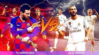 BARCELONA 0-0 REAL MADRID  **REACCIONANDO**