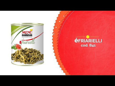 Èfriarielli -Turnip tops - Menù Evolution