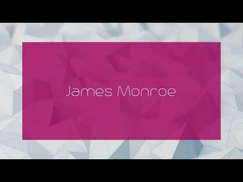 James Monroe - appearance