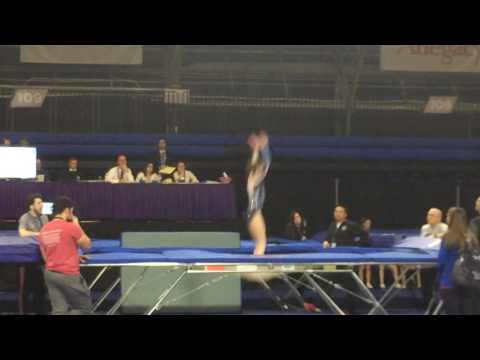 Sydney Marin Banks Level 8 Trampoline Greensboro, NC 2017