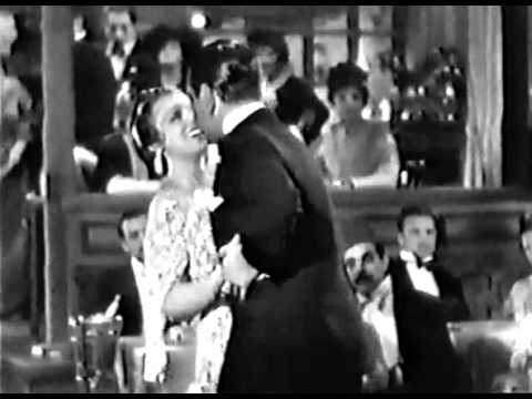 George Raft and Frances Drake dance the Tango in Bolero (1934)