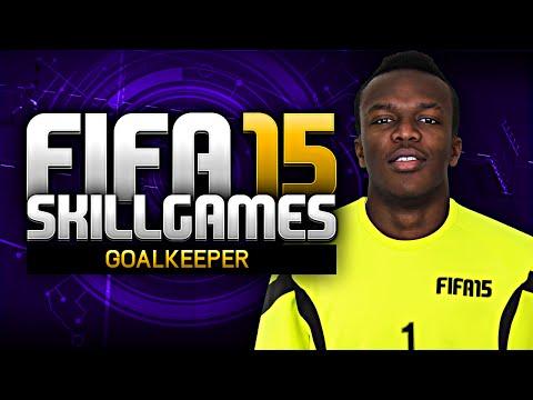 BLACK GOALIE!!! - FIFA 15 SKILL GAMES