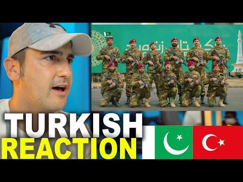TURKISH REACTION ON PAKISTANI ARMY SONG 2 (Pakistan Zindabad by ISPR)