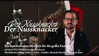 Der Nussknacker - eine musikalische Lesung für die ganze Familie | GÖTTINGER Symphonieorchester
