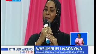 Mwakilishi wa Kike wa Mombasa awaonya wasumbufu ODM dhidi ya vitisho