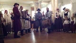 1.video.Skandiniekiem - 37.pasākums Vēstures un Kuģniecības muzejā. Rīga.10.11.2013.