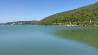 Рыбалка на озере Абрау)