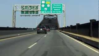 Pulaski Skyway westbound