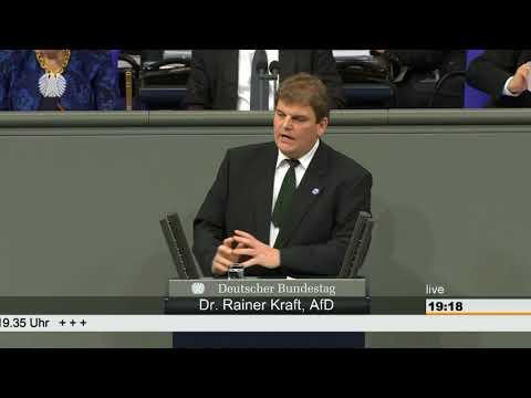 Kraft: Grüne Fraktion ist unfähig! - AfD-Fraktion im Bundestag