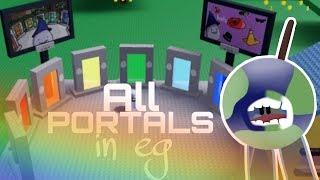 How to get ALL the portals in eg testing on roblox ** abyss ** timestamps in the description
