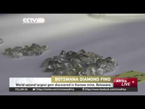 World Second Largest Gem Discovered In Karowe Mine, Botswana