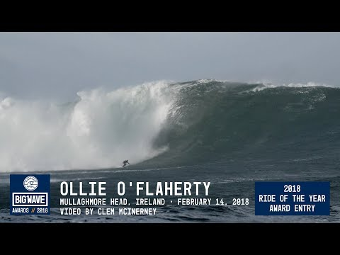 Ollie O'Flaherty at Mullaghmore Head  - 2018 Ride of the Year Award Entry - WSL Big Wave Awards