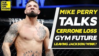 "Mike Perry: I ""Learned More"" From Cerrone Loss ""Than I've Learned My Entire Career"""