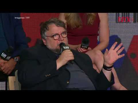 "Guillermo del Toro presenta ""The shape of water"" en Toronto"