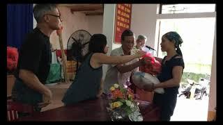 Về quê Nội làm từ thiện // Cuộc Sống Canada- Vợ Việt Chồng Tây