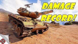 World of Tanks - T49 DAMAGE RECORD! (WoT T49 gameplay)