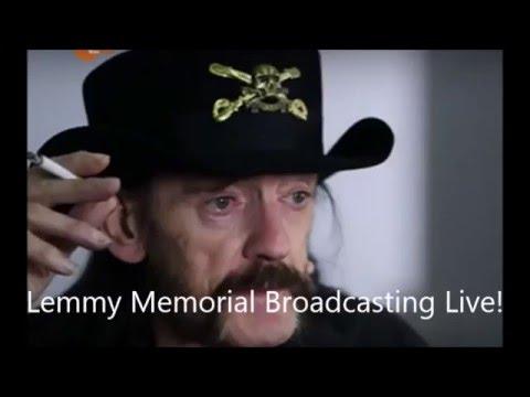 Lemmy memorial streams  live! - Hair I Go Again movie - Iommi + Martin again? - Blaze Bayley