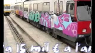 Reportaje de graffiti en Valencia por el programa Dossiers de Canal9