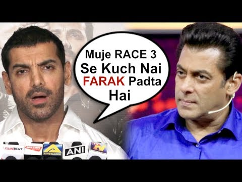 John Abraham Takes A DIG At Salman Khan's Race 3 Movie Mp3