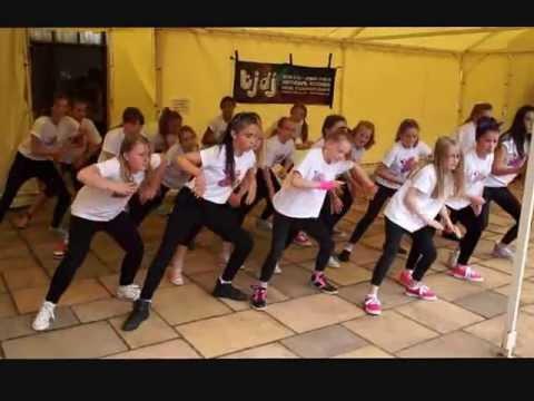 Dene Dance School Penkridge Fun Run 2013 Group B