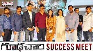 Goodachari Success Meet | Adivi Sesh, Sobhita Dhulipala | Sricharan Pakala