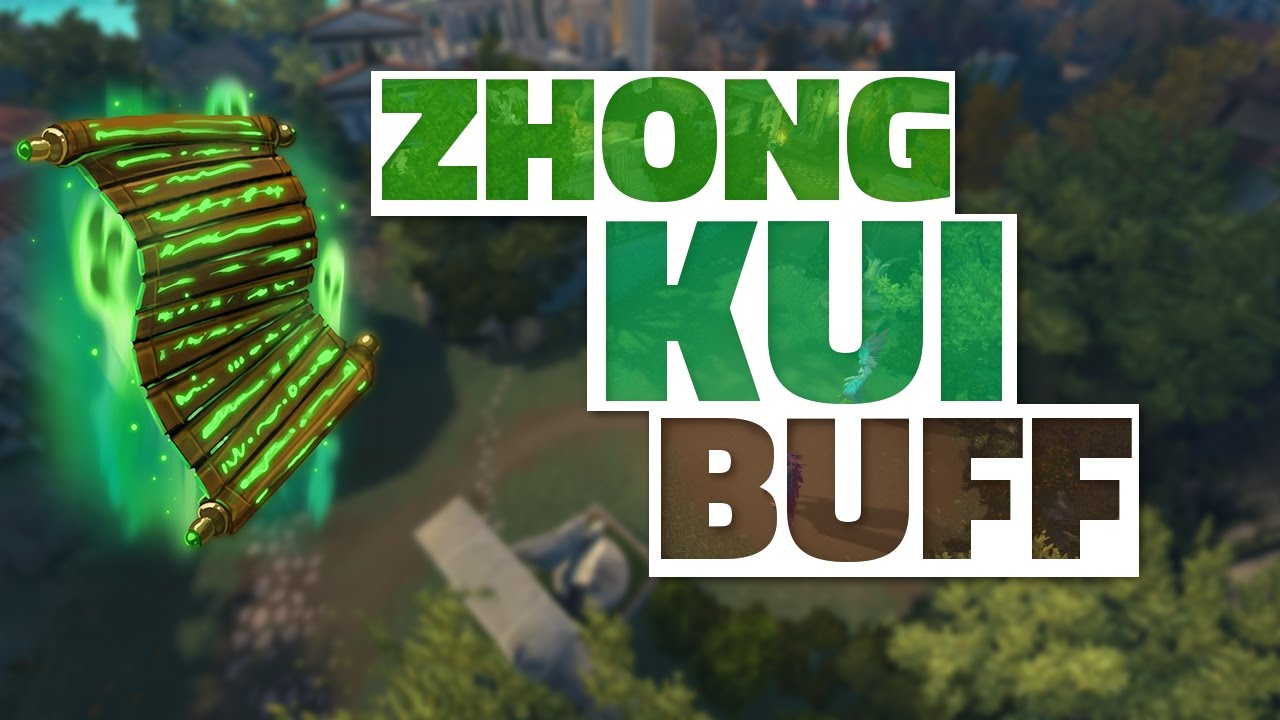 SMITE: How Good Is Zhong Kui After the BUFF?