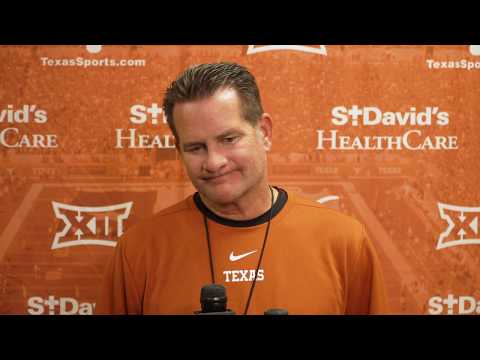 The Bottom Line - Todd Orlando And Tim Beck Address The Media Ahead Of Texas vs. Rice
