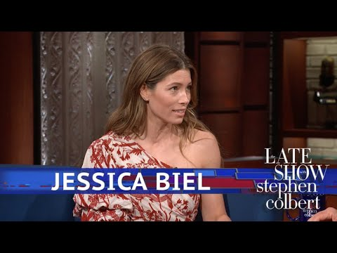 Jessica Biel's Emmy Nomination Moment
