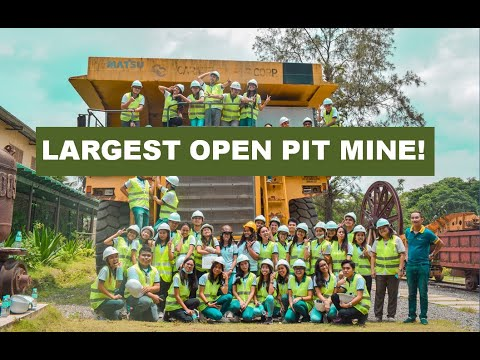 THE LARGEST OPEN PIT MINE IN THE PHILIPPINES!! || Charlupeeett