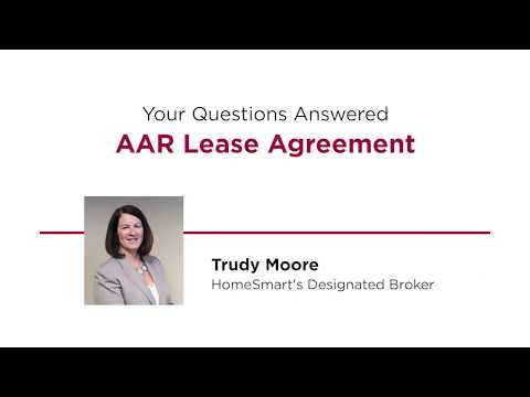 Your Questions Answered: AAR Lease Agreement