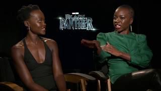 Black Panther Blu-ray/DVD Interview with Lupita Nyongo & Danai Gurira