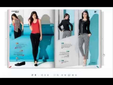 Catalogo de ropa andrea jeans primavera 2015 youtube for Nuovo arredo andria catalogo